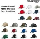 Yupoong Retro Trucker Hat & 2-Tone Snapback Baseball Cap - 6606, by Flexfit