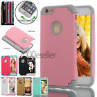 Shockproof Slim Hard Bumper Soft TPU Back Case Cover Protector for iPhone 7 Plus