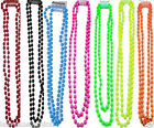 1980S NEON COLORS UV BEADS NECKLACE