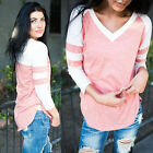 2016 Women's Lady Loose Long Sleeve Casual Blouse Shirts Tops New Fashion Blouse