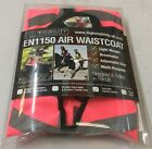 "New Equisafety Hi Viz Air Waistcoat ""Caution Young Horse"" Size Large T5BX#"