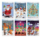 Caltime Advent Calendars Extra Large with white envelope 24 doors 315 mmx 410 mm