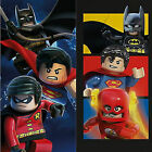 Lego DC Superheros Batman Superman Robin Cotton Beach Bath Towel