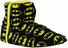 Boys Kids Infants/Junior Official Batman DC Bootie Slippers Sizes 13 to 5