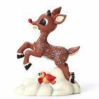 4053074 Flying Rudolph Christmas Jim Shore Figure The red nose reindeer