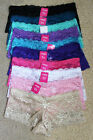 GIFT Lot 1 6 12 Sexy Adult Dating Vacation Plain Lace Boyshorts Panty S/M/L/XL