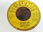 BILLY LEE RILEY Down by the Riverside 45 SUN 313 rockabilly signed warped as is
