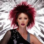 Blush Punk Wig Halloween Costume Party Wig Lots of Colors