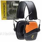 Browning XP 12660 Electronic Shotgun Shooting Hearing Protectors / Ear Defenders