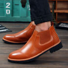 2016 Fashion Men's Leather Sneakers Suede Dress Casual Boots Loafer Warm Shoes