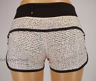 NEW LULULEMON Run Speed Short Sz 4 10 Speckle Dot Parfait Pink Black Shorts Gym