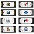 nEw NHL HOCKEY ICE RINK RUNNER RUG - Sports Logo Long Accent Carpet Floor Decor on eBay