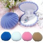 Shell Shape Velvet Display Gift Box Jewelry Case For Necklace Earrings Ring NEW