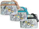 Donna Anna Smith Rivista Stampa Messenger Notebook Con borchie Borsa LYDC