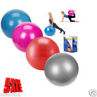 PVC Stress Reflexzonen Extension Yoga Ball Gymnastikball Gymnastikbälle 25/55cm