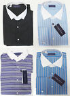 Ralph Lauren Purple Label Mens French Cuff White Collar Striped Dress Shirt New