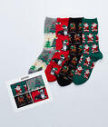 Hot Sox Holiday Gift Box Set 4-Pack Hosiery - Women's