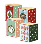 Mini advent lantern cards 16.6.x 11.5 sent flat fold into lantern with envelope