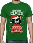 Santa Claws Ugly Christmas Sweater Cat T-Shirt Gift