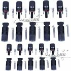 Lots MC4 30A Male Female M/F Connector Set for PV Solar Panels Cable Wire IP67