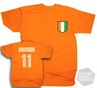 Didier Drogba Ivory Coast Chelsea Number 11 Football T-Shirt Adult & Kids Sizes