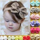 Baby Girls Newborn Chiffon Bowknot Headbands Hairband Hair Bow Band Bandeau New