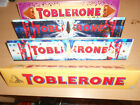 360g CHOCOLATE TOBLERONE - 4 DIFFERENT VARIETIES - MILK, DARK, WHITE CHOCOLATE