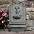 """26.5"""" Noblesse Outdoor Wall Water Fountain"""
