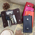 New Women Men Car Key Case Cover Bag Fashion Leather KeyChain Holder Case Wallet
