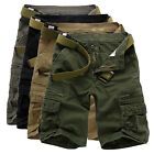 New Mens Cargo Shorts Summer Army Combat Camo Work Short Trousers Pants Shorts