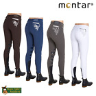 Montar Bamboo Ladies Silicone Knee Patch Breeches SALE **BNWT**