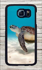 TURTLE SEA LIFE CLEAR TROPICAL WATER CASE COVER FOR SAMSUNG GALAXY S6 -kjh7Z