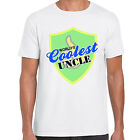 grabmybits - Worlds Coolest Uncle T Shirt - Gift, Design, Tee