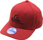 Quiksilver Toddler Mountain and Waves Baseball Hat Burgundy/Dark Red