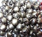 100 x mini JINGLE BELLS - CRAFTS,  JEWERLY MAKING, SEWING ETC., 6mm x 8mm