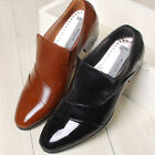 Excellent Leather Classic Dress Loafers Mens Shoes