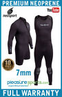 NeoSport by Henderson 7mm Men's Scuba Diving Wetsuit Zipper Jacket John WARRANTY