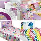 nEw GIRLS DISNEY CHARACTER BED SHEETS SET - Brave Tinkerbell Sheets Pillowcase