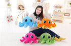 Plush Baby Toys Cartoon Star Big Eyes Octopus Stuffed Animal Dolls Cushion Gift