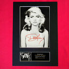 DEBBIE HARRY BLONDIE Autograph Mounted Signed Photo Reproduction Print A4 221