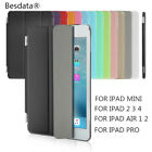 Ultra Slim Magnetic Flip Leather Smart Cover Stand Hold Case for Apple iPad LOT