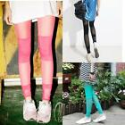 AU SELLER Sexy Womens Cotton&Mesh Stretchy Leggings Dance Dress Pants p039