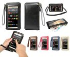 Full View Window Handbag/Shoulder Pouch Holster For iPhone 6 Plus/7 Plus/Galaxy