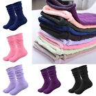 1 Pair Women Cotton Cashmere Thick Winter Warm Soft Solid Casual Sports Socks