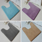 1 PCS Soft Flannel Anti Slip Pedestal Mats Soft Washable Bath Toilet Mat 40*60cm