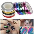 1pcs Rolls Waves Striping Tape Line DIY Nail Art Tips Decoration Sticker Decals