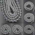 Faceted Natural Crystal Rock Gemstone Round Beads 15.5'' 4mm 6mm 8mm 10mm 12mm