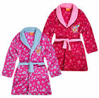 Girls Paw Patrol Dressing Gown New Kids Skye Everest Pink Bathrobe 3 4 5 6 Years