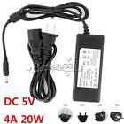 DC 5V 4A AC Switch Power Supply Adapter Charger Transformer For Led Strip,CCTV
