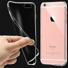 Clear Transparent Crystal Soft TPU Silicone Gel Cover Case for Various Phones